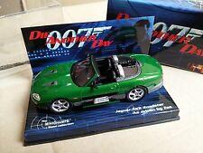MINICHAMPS 130230 ZAO JAGUAR XKR model car James Bond 007 DIE ANOTHER DAY 1:43rd