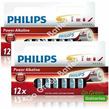 24 x Philips AA Power Alkaline Batteries 1.5V LR6, MN1500, MIGNON, STILO