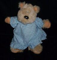 VINTAGE 1983 GRAPHICS INTL SNUGGABLES BROWN TEDDY BEAR STUFFED ANIMAL PLUSH TOY