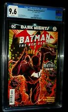 BATMAN: THE RED DEATH #1 2nd Printing 2017 DC Comics CGC 9.6 NM+ White Pages