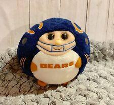 "Chicago Bears Beanie Ballz ""5 Small Plush Player 11323"