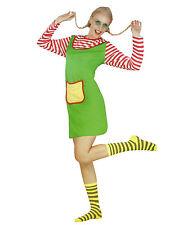 Freche Göre Damen Karneval Kostüm Fasching Verkleidung 2-tlg one size M-L-XL