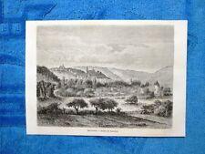 Gravure Année 1861 - Bar-le-Duc (France-Francia)