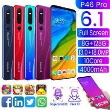 """P46 PRO Android 6,1"""" Débloqué Téléphone Portable 8Go+128Go Smartphone Dual SIM"""