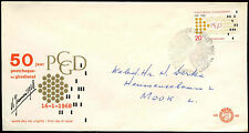 Netherlands 1968 Postal Cheque & Clearing Service FDC First Day Cover #C27321