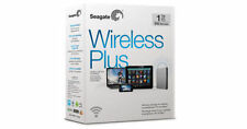 NEW Seagate Wireless Plus 1TB Portable hard drive for ipad,iPhone,Mac,PC,Android