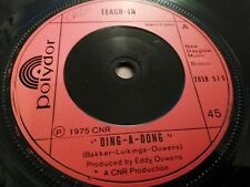 """TEACH-IN * DING-A-DONG * 7"""" SINGLE EXCELLENT 1975"""