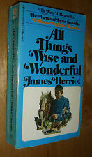James Herriot All Things Wise And Wonderful by James Herriot PB 1977