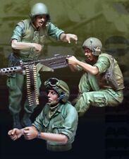 █ 1/35 Resin U.S. Marines Tank Crew 3 Soldiers set Vietnam War BL142