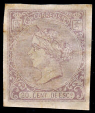 *** España 1866 Edifil 85 NUEVO SD (cat. 470€) ***