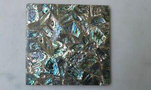"Small 5""x5"" inch Square Abalone Stone"
