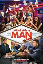THINK LIKE A MAN TOO ORIGINAL 27x40 MOVIE POSTER (2014) HART & UNION