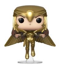 Funko Pop! Heroes: Wonder Woman 1984 - Wonder Woman Golden Armor Flying (Metallic) Vinyl Figure