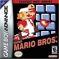 Classic NES Series: Super Mario Bros. - Nintendo Game Boy Advance GBA