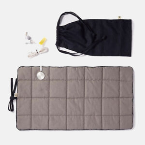 Shieldgreen Staric Earthing Therapy Kit Grounding Foot Desk Mat Navy Pouch AU