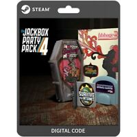 The Jackbox Party Pack 4 Steam / PC / DIGITAL DOWNLOAD / STEAM KEY