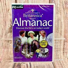 PC CD Rom Enciclopedia Britannica Almanaque Primera Edición conocimiento Sellado aprender