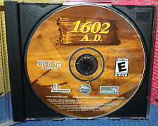 Infogames 1602 A.D. AD PC Game in Jewel Case CD-ROM