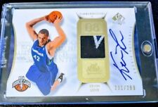 2008/09 SP Authentic Kevin Love Rookie Auto 3 clr Patch /299 Autograph RC HOT!🔥