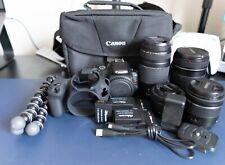 Canon EOS Rebel SL2 Body, Lenses, and Accessories Bundle