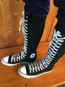 Converse All Star XX-Hi Kneehi Boots Stiefel Chucks Sneaker Gr. 41,5 schwarz