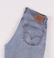 Vintage LEVI'S 550 Blue Relaxed Fit Men's Jeans W33 L36