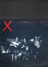X - at home with you LP