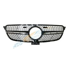 Mercedes Benz W166 GLE 2015 - 2018 Diamond Grille With Camera Hole