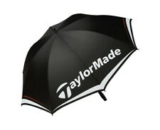 "TaylorMade Golf 60"" Single Canopy Umbrella White/Black/Red"