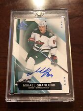 15/16 SP GU Auto Hockey Card Mikael Granlund #27