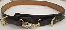 - AUTHENTIQUE  ceinture  LONGCHAMP  Paris  cuir véritableTBEG  vintage
