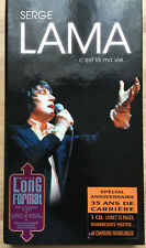 Serge LAMA Coffret Long Box  3 CD  avec  livret  MINT !
