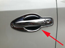 Door Handle Bowl Cover Trim for 2015-2019 Nissan Murano ABS Chrome New Arrival