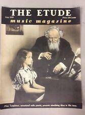 Vintage The Etude Music Magazine July 1939 Alec Templeton Radio Pianist