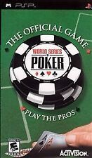 World Series of Poker UMD PSP GAME SONY PLAYSTATION PORTABLE WSOP