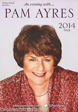 Event Promo Flyer: An Evening With Pam Ayres - UK Tour 2014
