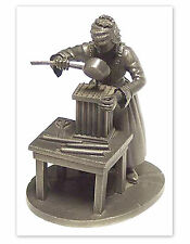 Candle Maker - The People of Colonial America Pewter Figurine by Franklin Mint