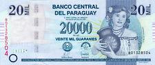 Paraguay P-230a 20000 guaranies 2007 UNC