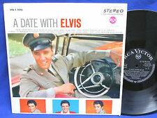 LP ELVIS PRESLEY - A DATE WITH ELVIS // GERMAN EXPORT BLACK RCA SVA-S 1016