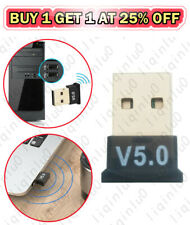 USB Bluetooth 5.0 Adapter Wireless Dongle Stereo Receiver Audio For PC Laptop TV