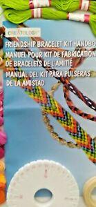 Creatology Freindshipe Bracelet Kit Manual wheel roll thread 21 colors thread
