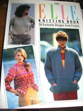 Elle Knitting Book: 50 Exclusive Designs from France, , Used; Good Book