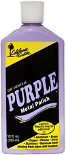 California Custom Original Purple Metal Polish Aluminum Chrome Brass Plastic