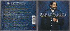 CD BARRY WHITE THE ULTIMATE COLLECTION BEST OF 17T DE 2001