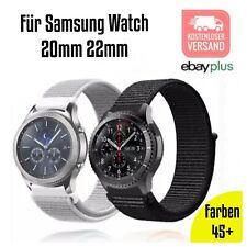 ✅ Für SAMSUNG Galaxy Active Watch Gear S2 S3 Sport Armband 20mm 22mm Nylon ✅