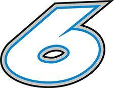 NEW FOR 2018 #6 Matt Kenseth Racing Sticker Decal - SM thru XL - Various colors