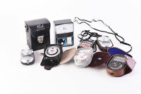 Lot of 7 Light Exposure Flash Meters Weston Sekonic for PARTS OR REPAIR V62