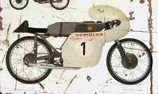 Kreidler Renn Florett 1963 Aged Vintage SIGN A3 LARGE Retro