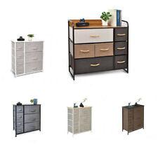 Dresser Bedside 7 Drawers Furniture Storage Tower Unit for Bedroom Office