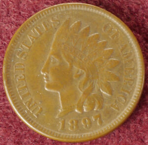 United States Indian Head Cent 1897 (E2506)